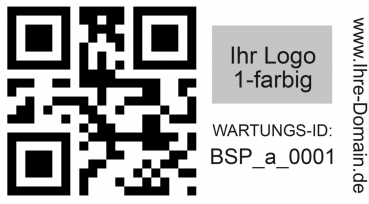 qr code etiketten fortlaufend nummer barcode inventar. Black Bedroom Furniture Sets. Home Design Ideas